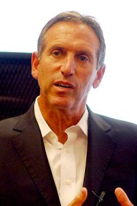 Howard Schultz, Starbucks CEO (Source: http://www.forbes.com)
