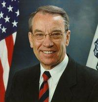 "Charles Ernest ""Chuck"" Grassley is the senior United States Senator from Iowa, serving since 1981."