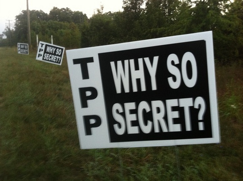 TPP Why So Secret