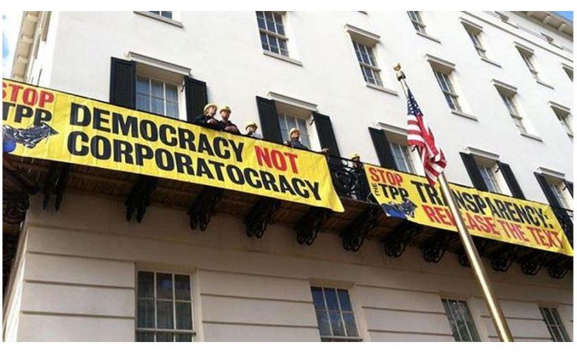 Democracy not corporatocracy