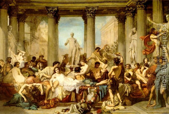 Thomas Couture-The Romans of the Decadence