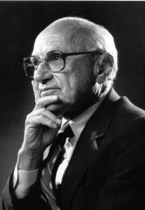 Milton Friedman, the University of Chicago economist who, it's now known, was discoveed by the Buchanan Committee in 1946, to have arranged along with with George Stigler, an under-the-table deal with a Washington lobbying executive to pump out covert propaganda for the national real estate lobby in exchange for a hefty payout. (http://www.alternet.org/visions/true-history-libertarianism-america-phony-ideology-promote-corporate-agenda)