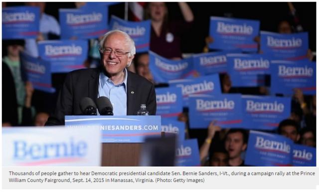 Sanders in VT
