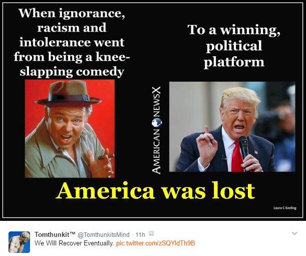 America was lost