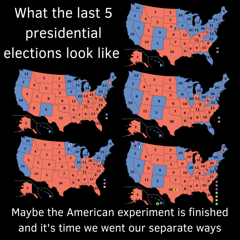 These are the last 5 presidential elections (1)